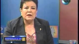 Dip. Margarita Escobar - Dialogo Entre Arena Y Fmln  - República Sv  Canal 33 Parte 1