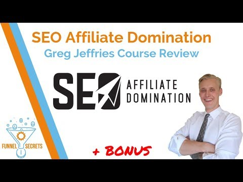 SEO Affiliate Domination Review - Greg Jeffries Course