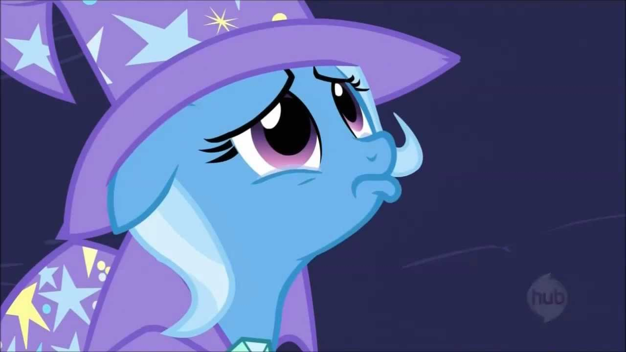 Wallpaper Sad Animated Girl The Great And Apologetic Trixie You Can Forgive Me Can