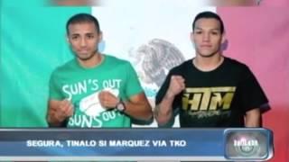 Balitaan: Segura, tinalo si Marquez via TKO