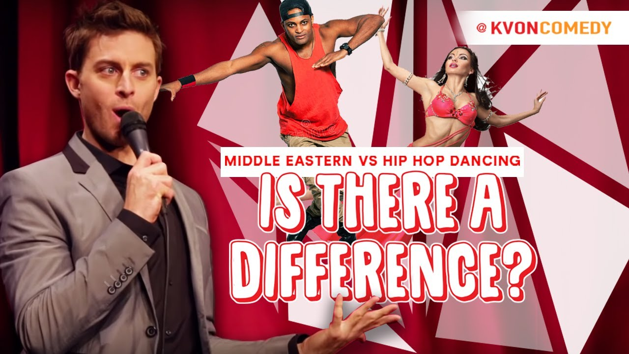 Middle-Eastern vs Hip Hop-Dancing (LOL) -Kvon Explains