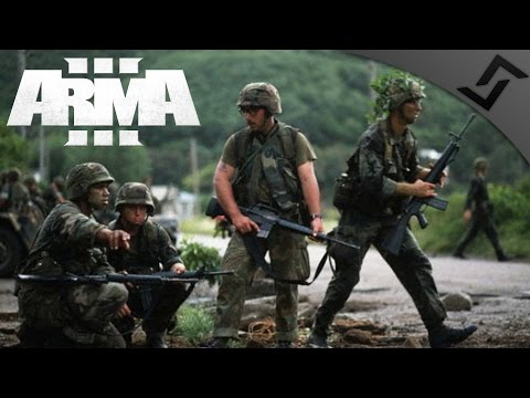 US Rangers in Grenada 1983 - ARMA 3 - Airfield Assault w/ M14 Battle Rifle