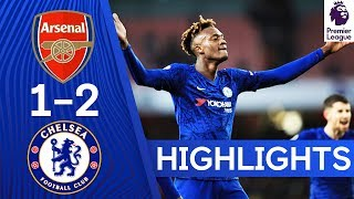 Arsenal 1-2 Chelsea | Tammy Abraham Scores Late Winner! | Highlights