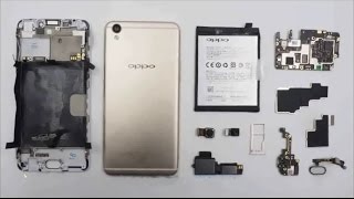 oPPO R9 Complete Disassembly & Review