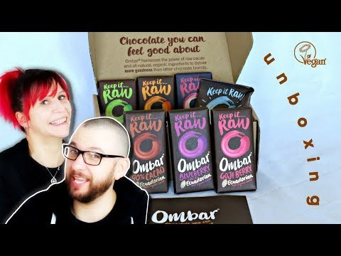 Vegan Unboxing: Ombar Fair Trade Raw Cacao Chocolate | Taste Test