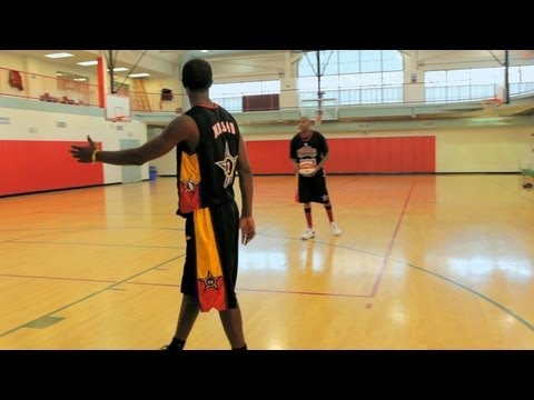 how to cut and watch the ball basketball