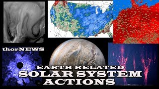 Hell Heat Wave Europe, Big Volcano Eruptions. NLC Break Out & much much More