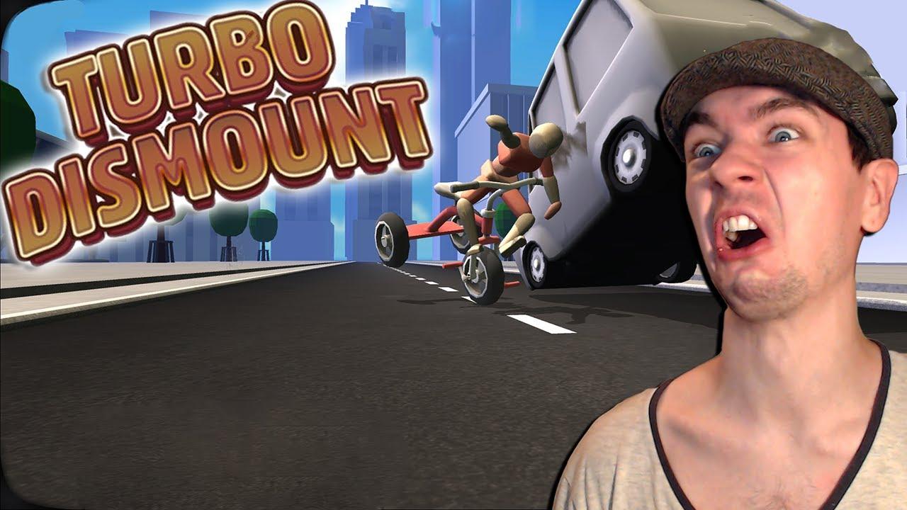 turbo dismount part 1 so much fun youtube