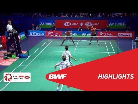 YONEX FRENCH OPEN 2018 | Badminton MD - SF - Highlights | BWF 2018