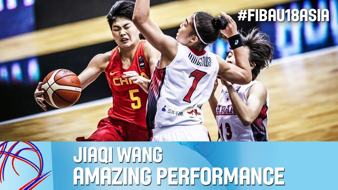 Jiaqi Wang - Amazing Performance vs. Japan
