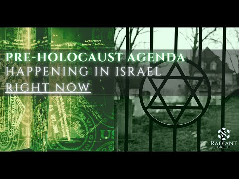 PRE-HOLOCAUST ✡️ AGENDA HAPPENING IN ISRAEL 🇮🇱 RIGHT NOW!