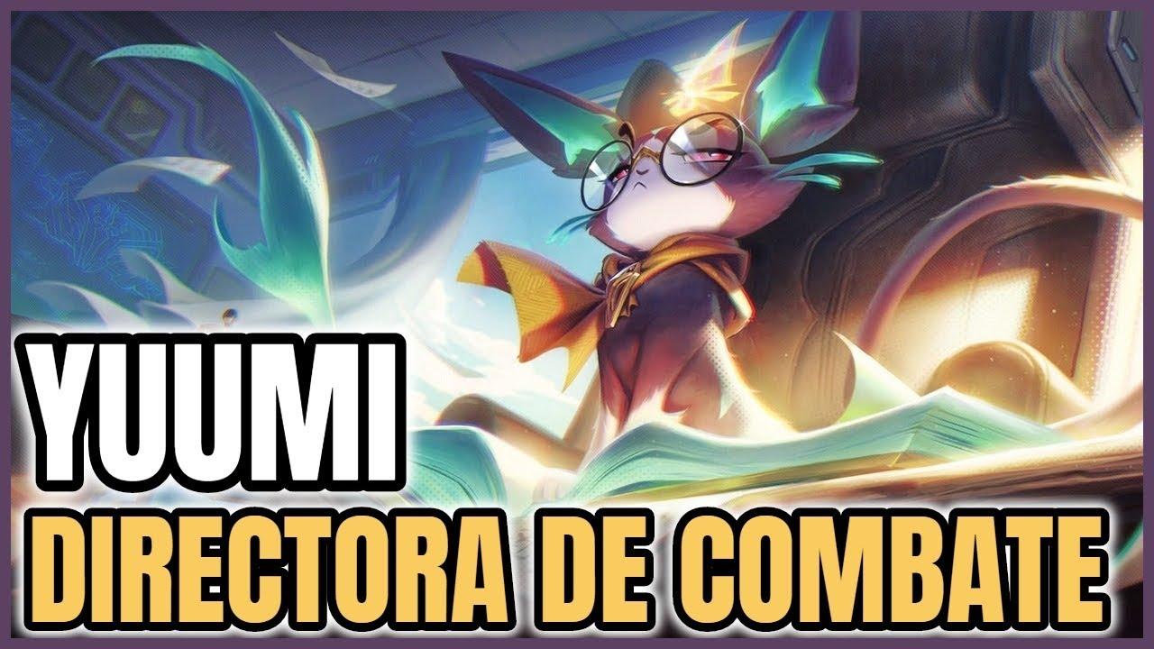 YUUMI DIRECTORA DE COMBATE Gameplay Latino -