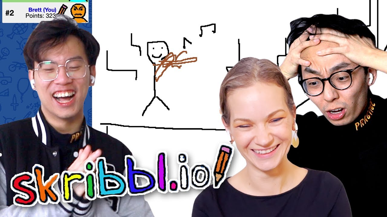 Playing Musical Skribbl.io with @Hilary Hahn!