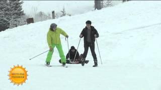 Катание на лыжах: первые уроки (28.12.15)