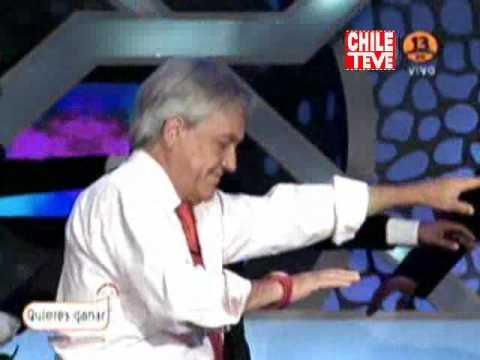Sebastian Piñera bailando Thriller en El Hormiguero Chile