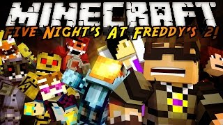 Minecraft Modded Parkour : FIVE NIGHT'S AT FREDDY'S 2!