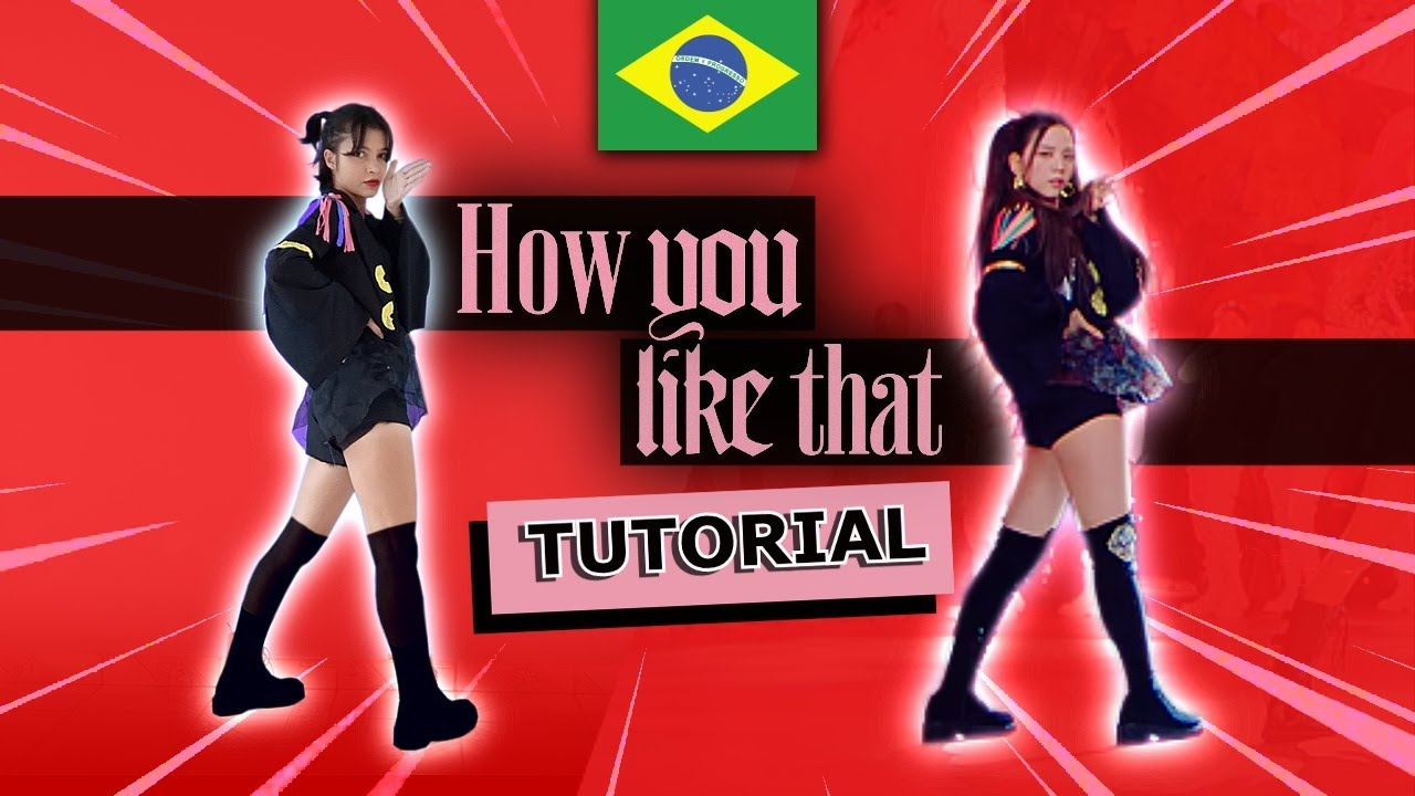 [TUTORIAL] BLACKPINK - HOW YOU LIKE THAT - Mirrored - Step by Step (ENG SUB) by Frost