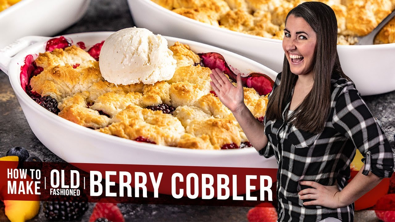 Download How to Make Old Fashioned Cobbler