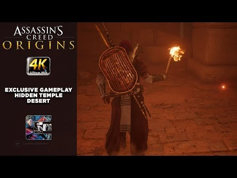 Assassin's Creed: Origins NEW Gameplay - Hidden Temple in the Desert