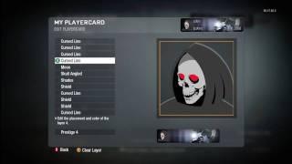 Call of Duty Black Ops Grim Reaper emblem tutorial