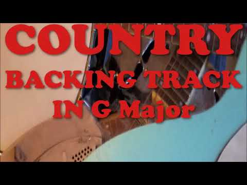 Country Backing Track In G Major (Fast bluegrass style)