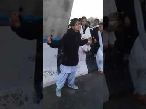 punjabi college girl  sinsing a song