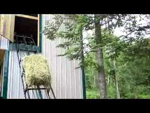 hay conveyor and elevator for sale at berlin foundry and machine youtube. Black Bedroom Furniture Sets. Home Design Ideas