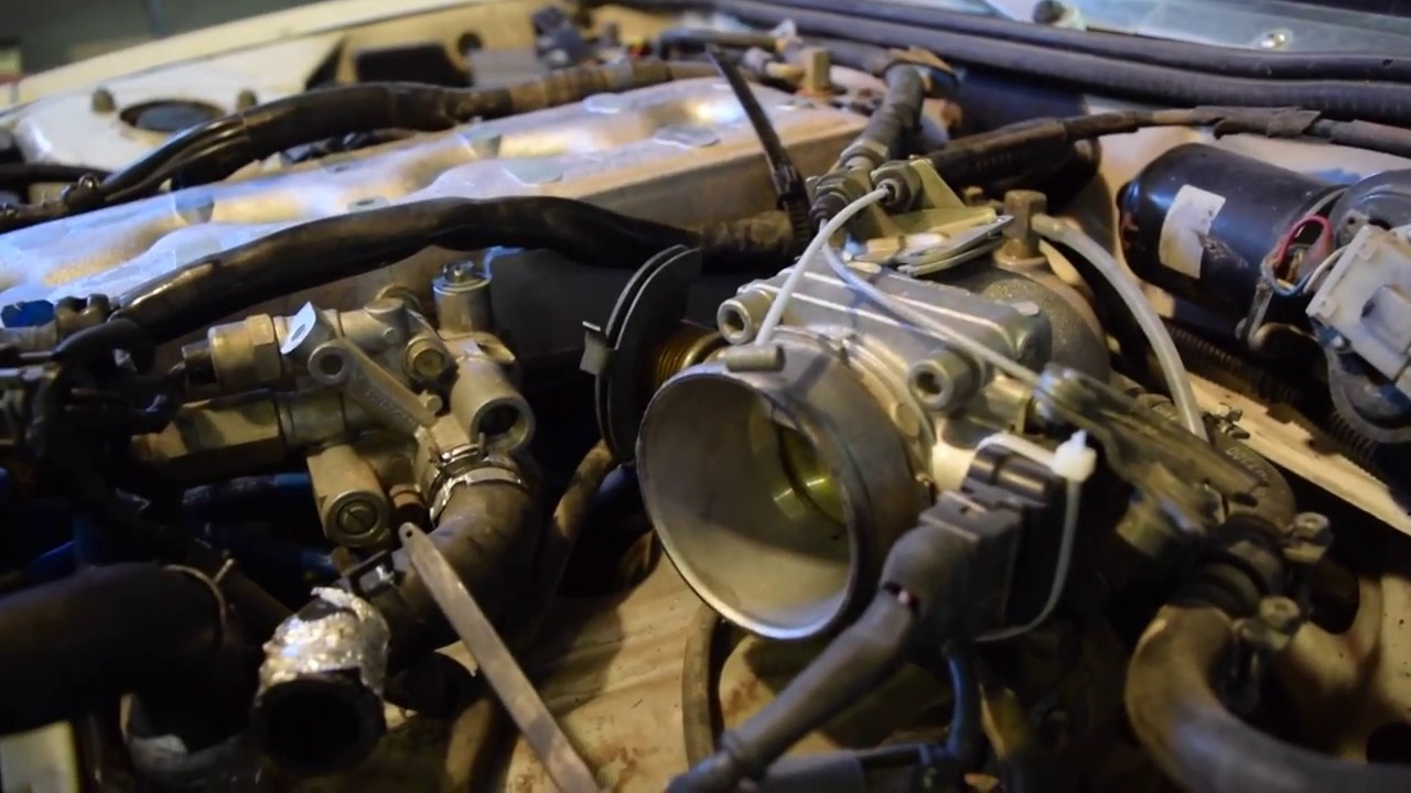 small resolution of intake manifold removal 300zx z31
