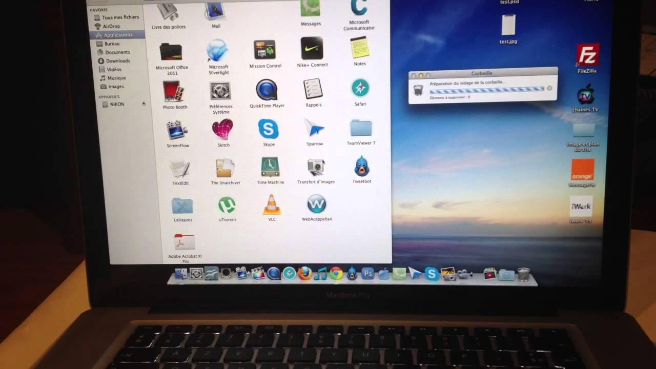 Supprimer dfinitivement une application sur Mac  Nettoyer son ordinateur  YouTube