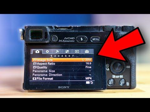 Sony a6000 -