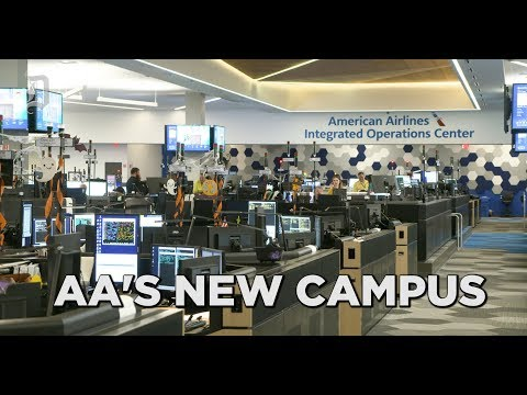 Take A Tour Of The New American Airlines Main Campus