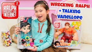 NEW WRECK IT RALPH 2 Ralph Breaks the Internet Toys! Talking Vanellope + Wrecking Ralph from BANDAI!