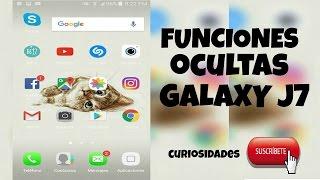 Samsung Galxy J7 (FUNCIONES, TRUCOS, APPS) QUE NO SABIAS