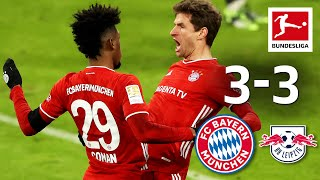 High-class top match! | FC Bayern München - RB Leipzig | 3-3 | Highlights | Matchday 10 – Bundesliga
