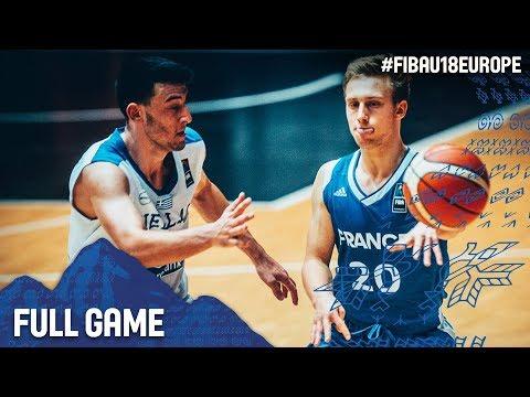 Greece v France - Full Game - Classification 5-8 - FIBA U18 European Championship 2017