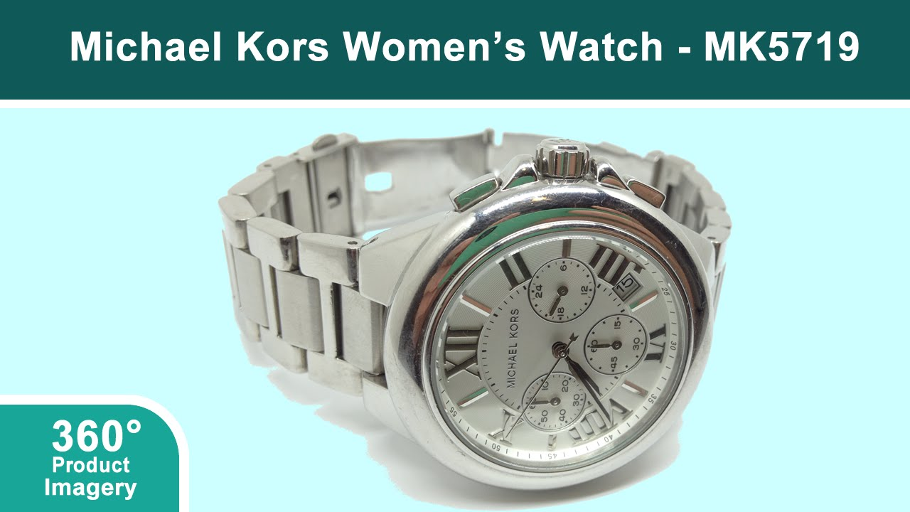 08cd492cbb4f Michael Kors MK5719 Women s Watch 360 Product Imagery Video - YouTube