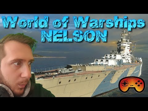 HMS Nelson Preview/Gameplay - Das 375k EXP Schiff - World of Warships - Gameplay Deutsch/German