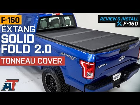 2015-2018 F150 Extang Solid Fold 2.0 Tonneau Cover Review & Install