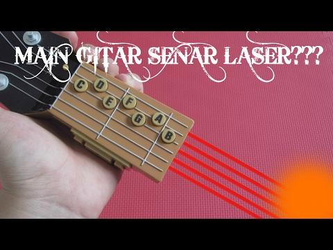 Main Gitar Senar Laser??? Air Guitar Unboxing Indonesia