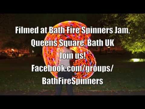 Bath Fire Spinners 25th October 2015