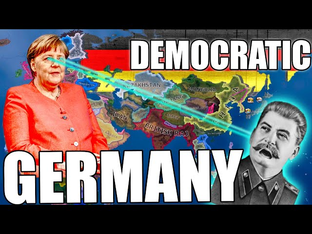 Democratic Germany takes out USSR in Hearts of Iron 4