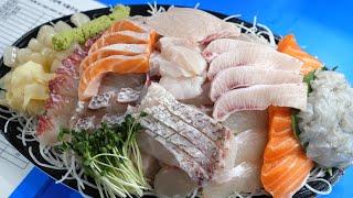 ㅈㄴ 맛있는 특수부위 모듬회  방어,참돔,광어,숭어,연…