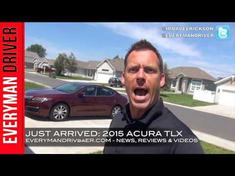 Just Arrived: 2015 Acura TLX on Everyman Driver
