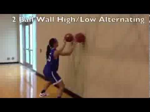 Tulsa Women's Basketball Individual Drills