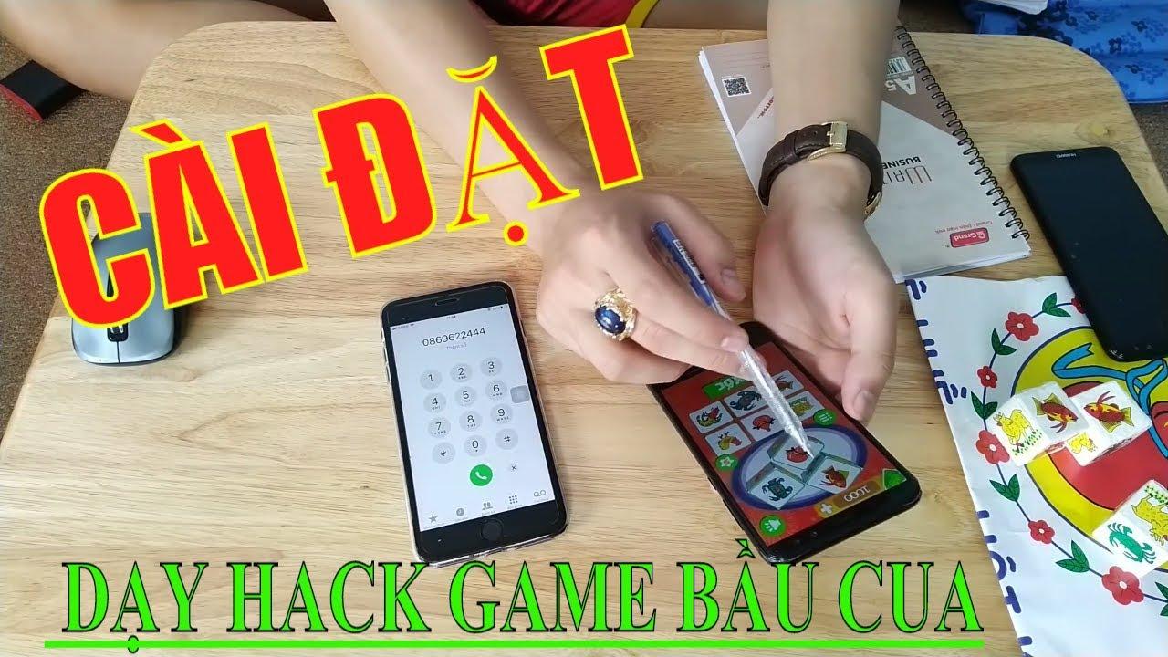 Cài đặt Phần mềm hack bầu cua tôm cá nếu muốn chơi bầu cua trên điện thoại thắng tiền TỶ