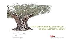Postwachstum Gesellschaft - Denkanstoss mit Niko Paech