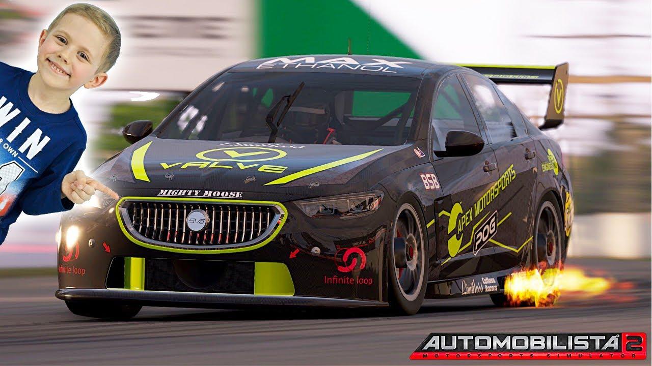 Крутые Гонки Automobilista 2 - Новый симулятор мотоспорта 2020 года. 13+