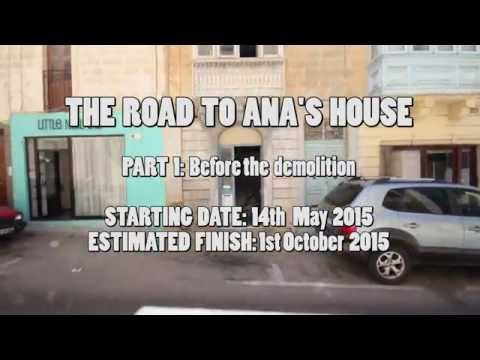 Part 1. Renovation Of a Maltese Town House - Before Demolition
