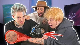 Wir stechen uns gegenseitig Tattoos..! - mit Taddl
