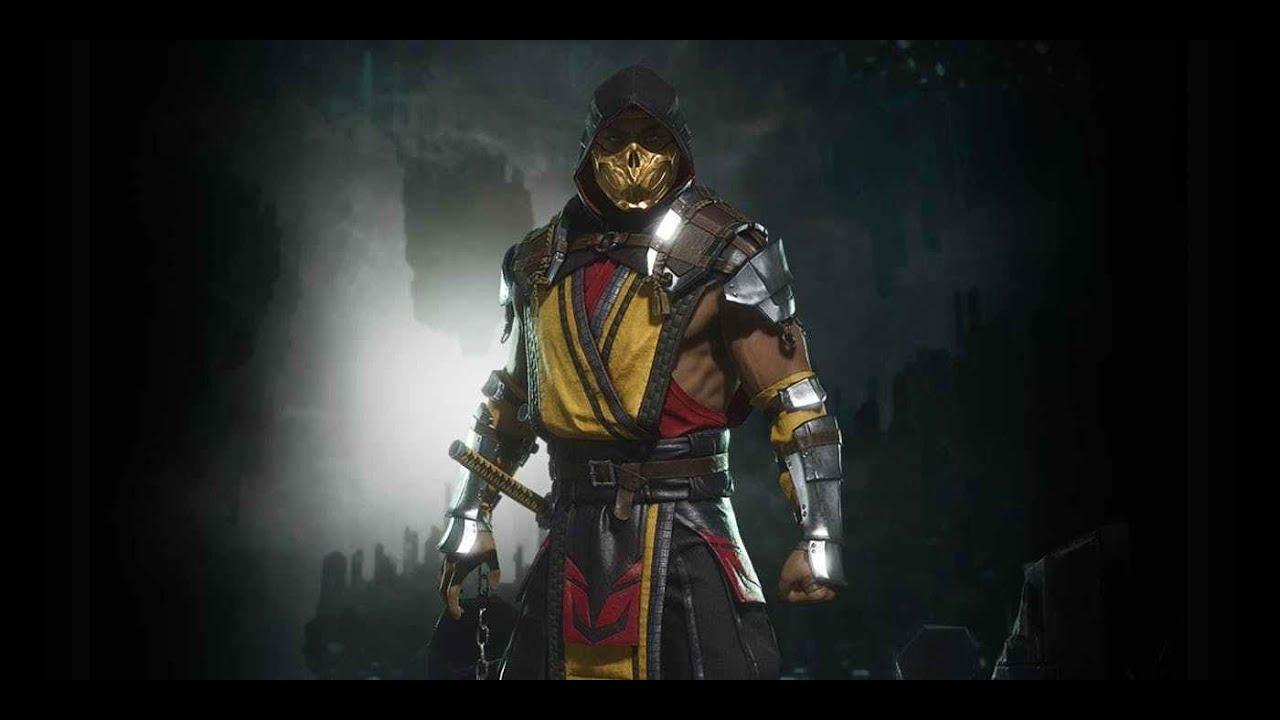 Guia De Mortal Kombat 11 Scorpion Combos 10 Golpes 400 De Dano Online Combos Faciles Youtube